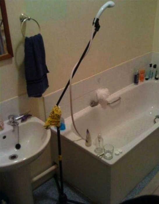 Альтернативные способы использования стойки для микрофона. | Фото: CopyPast.ru.